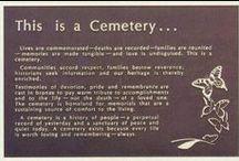 Cementerios, monumentos funerarios y afines. / La belleza y la paz de lo único cierto en la vida: «la muerte». Ambas se conjugan en este tablero.