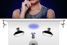 Lichtsetup - Studio / Einstellungen Licht und Reflektoren