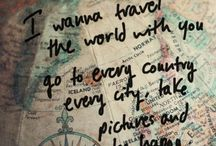 Travel Quotes / Quotes to inspire you to go explore and travel. Wayfaring, highly encouraged.