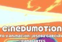 CINEDUMOTION / Materiales Educativos Proyecto 2014-2015:  Recursos sobre el lenguaje audiovisual, la narración secuenciada. Animación y creación audiovisual para la Educación Secundaria, Artes Plásticas y Ciclos Formativos. http://cinedumotion.blogspot.com https://www.facebook.com/pages/Cinedumotion/1578913039021017 https://magic.piktochart.com/output/4800718-cinedumotion-enlaces Autor: José Manuel García Plazuelo.