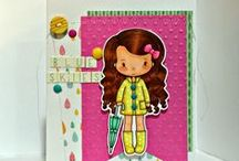 Cards_Spring / Spring theme cards made using Whimsie Doodles digital stamps