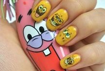 SpongeBob Hair & Beauty / Have we got a whale of a beauty board for you! Catch up on the latest in nail art, face art, and hair tutorials--all featuring our favorite undersea pal, SpongeBob SquarePants!