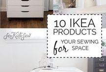 Sewing Room Ideas / DIY Ideas for New Sewing Rooms
