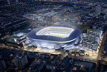 Stadium Concepts - Tottenham Hotspur / The new stadium for Tottenham Hotspur Football Club. Concept Images.