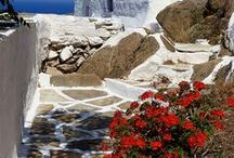 "Ios island , Greece / Íos or Niós, as the locals call it, is one of the most beautiful islands of the Cyclades, like a flower, as its name ""Ion"" denotes. According to the ancient tradition, Íos was the homeland of Homer's mother and the final resting place of the great epic poet."