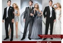 Jim's Formalwear Tuxedos and Suits / With over 50 tuxedo and suits styles available we are sure you  will find you the perfect ensemble for your special day.