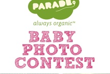 """Spring Baby Photo Contest / Until March 31, 2013, repin or like the photo with the """"Most Spring-ey"""" baby, and the winner with the most points will win a $100 gift certificate to spend at ParadeBaby.com!  Each repin = 2 points, Each like = 1 point, Baby's already wearing Parade Organics = 3 bonus points.  Get sharing! Want to find out when we're holding our next baby photo contest? Sign up here: http://parade.ca/blogs/news/7443064-enter-our-spring-baby-photo-contest-and-be-featured-on-paradebaby-com"""
