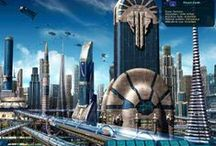 Futuristic Cities / A collection of futuristic city concepts and designs. / by Futurescape Developments
