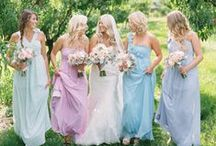 Dresses / Everything about THE dress. Wedding Gowns, Bridesmaid Dresses, Mother of the Bride Dresses and more.