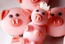 *Cochon* Anniversaire / Quelques gâteaux cochons à offrir à ceux que vous aimer!