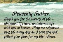Prayers & Blessings / Prayers & Blessings