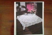 Crochet Home-Tablecloths, Runners, Curtains / Tablecloths, runners, curtains