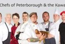 Chefs of Peterborough & the Kawarthas / If food is your thing, you don't have to spend hours chewing through traffic. Peterborough & the Kawarthas is just 90 minutes from Toronto. Our artisan foods and artful chefs will make your stay something to savour long after you leave. Even if you never visit a farm in Peterborough & the Kawarthas, one will visit you. At your table. At a farmer's market. In specialty shops and supermarkets. We invite you to visit our table…and you can count on our chefs visiting yours.