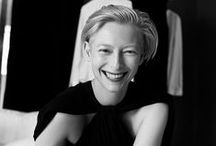 "Tilda Swinton / Tilda on identity: ""I'm basically interested in identity, and I still find fascinating the question, ""How do we identify ourselves, and how do we settle into other people's expectations for our identity?"" source: http://m.imdb.com/"