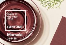 Color of the 2015 - Marsala