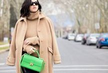 BITTERSWEET COLOURS BLOG / Veronica Popoiacu of Bittersweet Colours is a fan!! She paired our popular Palm Green Jetsetter Vegan Handbag with cashmere and looking fabulous at 29 weeks pregnant!