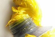 Geel - geler - geelst