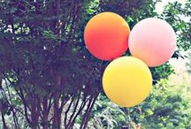 Let's Celebrate / Fun and colourful things
