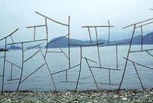 LandArt / art in mountains, in forest, on beach and more interesting places