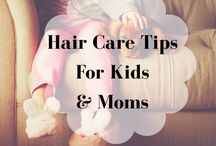 Hair CareTips for Kids and Moms / Hairstyles and products for Mothers and their children