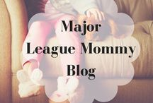Major League Mommy Parenting Blog / Parenting blog at majorleaguemommy.com. Advice, DIY projects, and lots of other fun stuff.