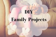 DIY Projects for Family / Fun DIY projects for the entire family