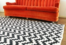 Rugs That Make a Room / Rugs of all shapes & styles to enrich your room design.