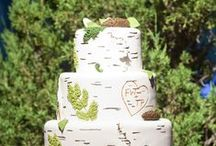 Theme: Woodland Whimsy / A wedding celebration inspired by whisps of forest sprites and stately conifers
