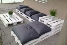 Pallets and ideas / Different things you can do with pallets