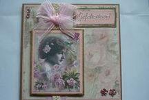 Mijn Vintage kaarten / cards :) / Mijn zelfgemaakte kaarten!