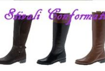 Stivali Conformati / Finalmente una collezione di stivali studiati appositamente per le taglie conformate.