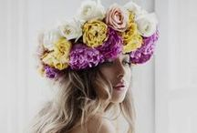 Floral Crowns and Headpieces / Bridal headpieces