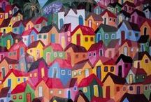 Decoupage Houses/Huse