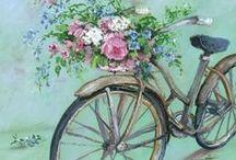 """""""Tour de France"""" / Vintage cycler"""