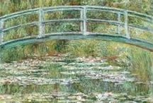 Monet / Monets malerier/have