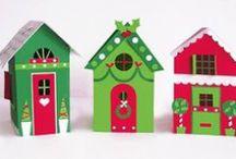 Birdhouses for dekoration (not for birds)