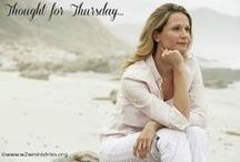 Thought forThursdays / Inspiration and encouragement. / by Woman to Woman Ministries