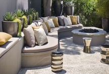 Contemporary Garden Design / Contemporary garden design thrives on eclectic mixes of texture, balance and colour.  Compositions of water, stone and wood and more than a dash of artistic flair are crucial to designs that make our outdoor lifestyle relaxing, entertaining and engaging.