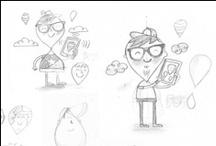 Bocetos & process / Estudio