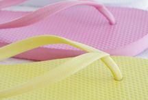 painel de inspiração amarelo+rosa