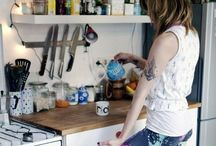 in the kitchen / my favorite room in the house / by alissa L