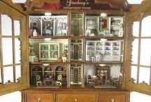 -Dollhouses - (Interiors) / by Maria Gauld (Board #3)