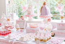 Sweet table rose/princesse