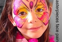 Face painting / All my facepainting doodles :-)