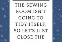 Laugh out loud funny / Hilarious quilt sewing related quotes, jokes and stories about our sometimes obsessive hobby. Humor so funny it will have you laughing until your stomach hurts.