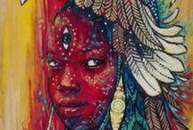 Faith / Ancestrais / deuses yoruba / tradição