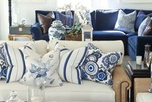 Indigo blue Decor
