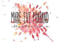 Illustrations Marie-Eve Pharand / Illustrations, dessins, art print