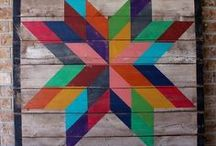 Barn Quilts / Who doesn't love a good barn quilt?!