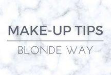 Blonde Way: Make-Up Tips